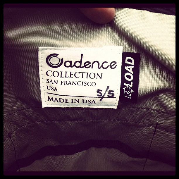 Cadence // RE Load bags limited run of 5 stealth soft packs for cadence store only. Avail next sat! (Taken with  Instagram )