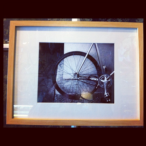 Full frame collective photo show at montano velo in Oakland.  (Taken with  Instagram )