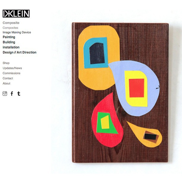 New Dklein site and updated Shop on Live. Here: www.dklein.co #dklein