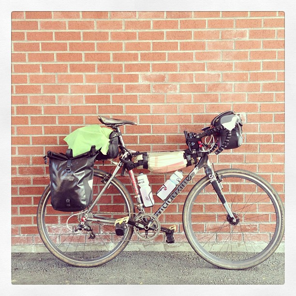 Portland to SF. #solo #unsupported #now
