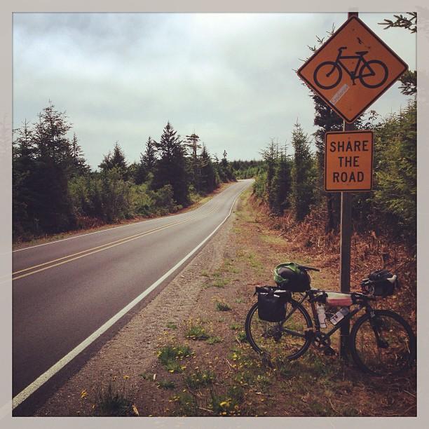 Adventure cycling season. #trailducks #hoborich #biketour