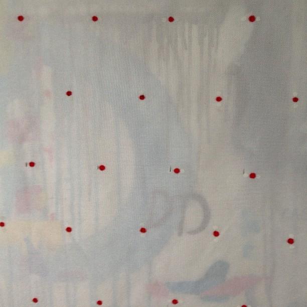 Analog textile design.
