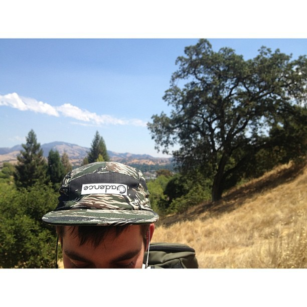 Omac hats killing it in nature. #cadencecollection