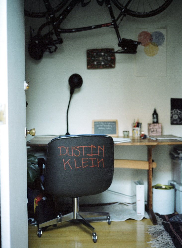 Inside view of our home shot on medium format by John Daniel Reiss