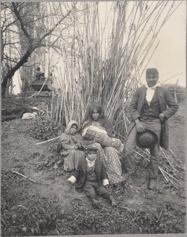 Digger Indian Family