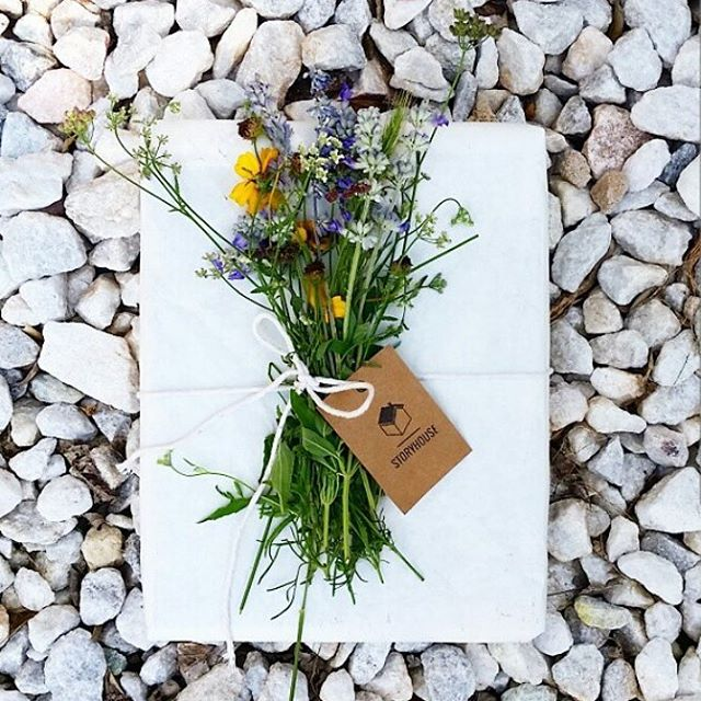 Happy hump day from our HQ in sunny Austin, TX! Texas summers may be brutal but even the heat can't eclipse our beautiful wildflowers - they make the best touches for our finished packages! #humpday #mystoryhouse #atx #familyhistory #packagedesign