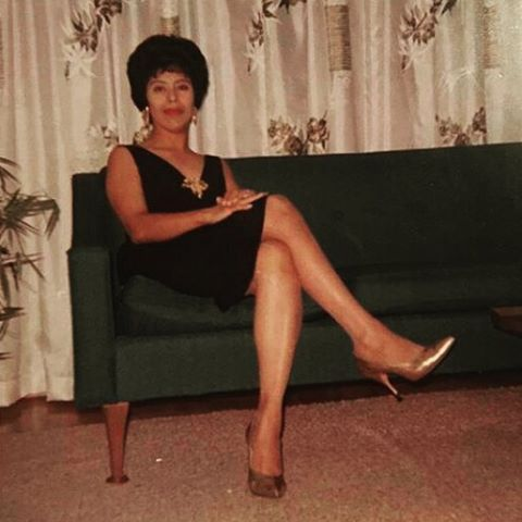 "Friday night style inspiration from @arowephoto: ""Talk about style. My grandma bringing Mad Men era to life. She was more beautiful inside than out, and from this photo that's hard to believe."" #savefamilyphotos #mystoryhouse #familyphotos #fbf #tgif"