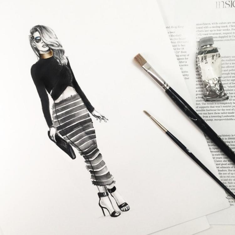 The Native Fox // Jennifer Grace illustration