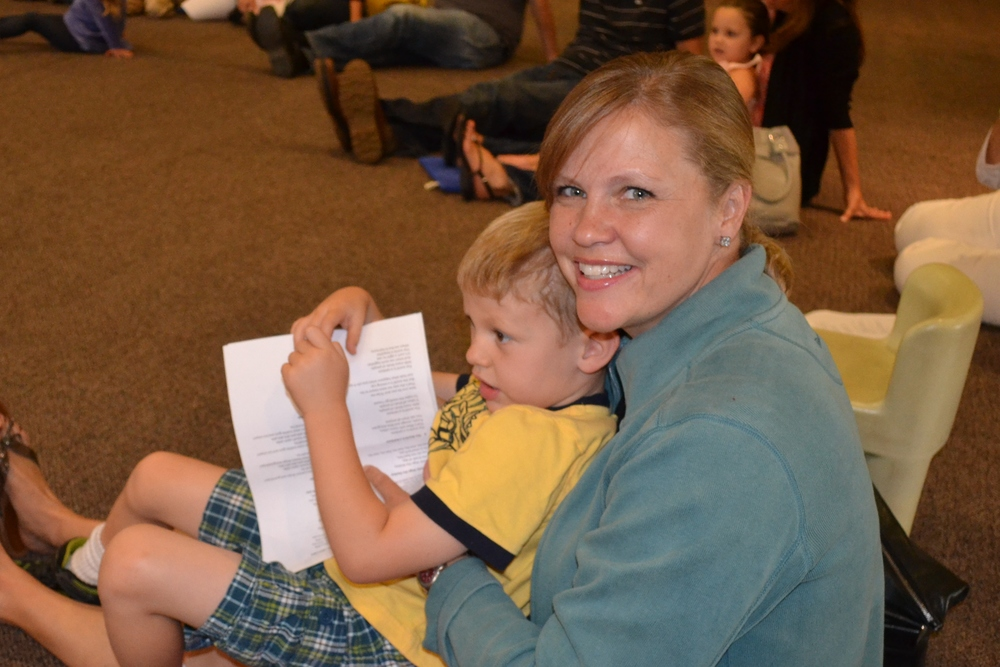 Received his diploma! We're at the school sing finishing up with his class1