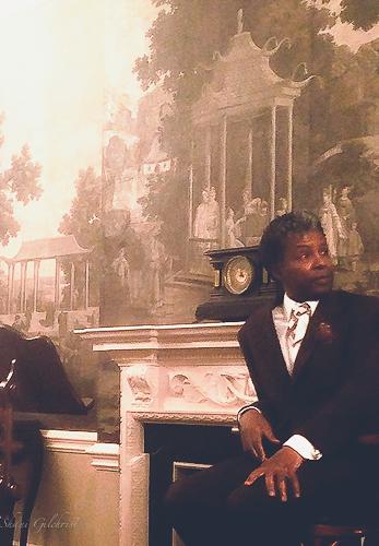 My friend Jonathan Green at the University of South Carolina President's House