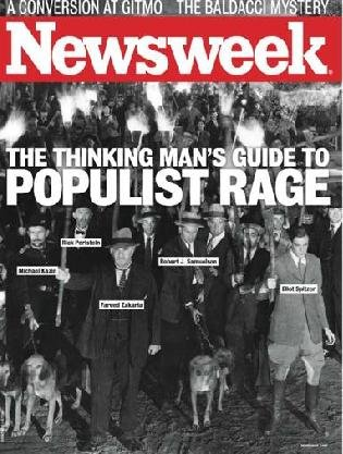 An Newsweek cover from within recent years