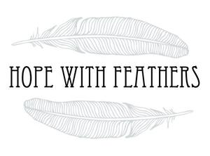hope with feathers