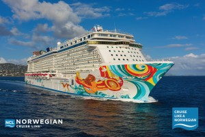 HOPE WITH FEATHERS IS HITTING THE HIGH SEAS   WITH NORWEGIAN CRUISES THIS MONTH! STAY        TUNED FOR ALL THE FUN AND LEARN ABOUT         HOW TO BOOK A MEMORABLE GETAWAY FOR                                  YOUR OWN FAMILY!