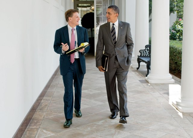 Official White House Photograph by Pete Souza via Vanity Fair