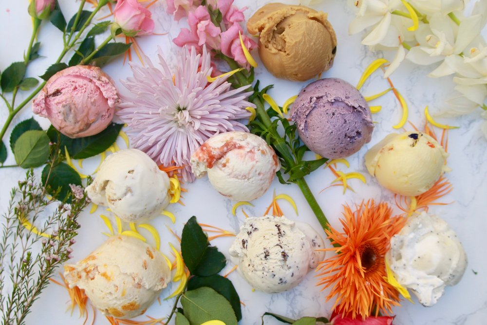 This month, you can treat your taste buds to bloom-inspired ice cream, thanks to the inventive minds at Salt & Straw.