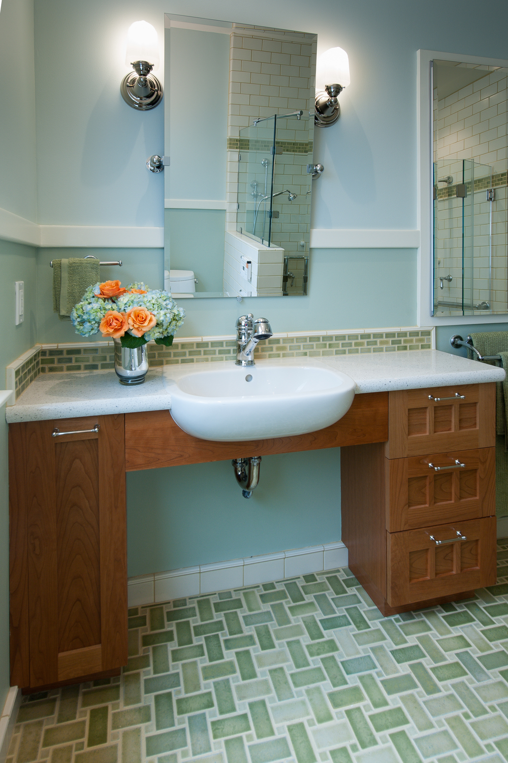 Featured project bungalow bathroom gains new for Bungalow bathroom designs