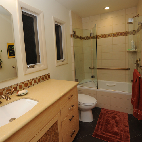 Richmond Heights Contemporary Master Bath