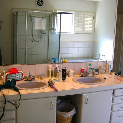 Dramatic Bathroom Transformations