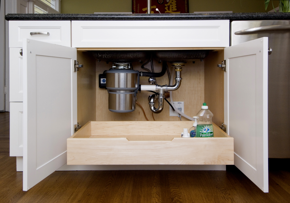 Pull-Out Under Kitchen Sink