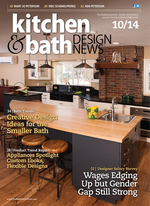 Kitchen & Bath Design News: Living Large in a Small Bath