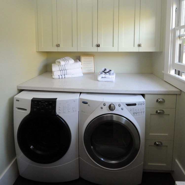 Berkeley Brown Shingle Laundry Room