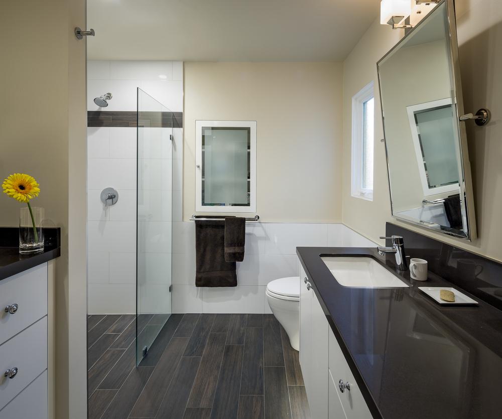 San Francisco Saint Francis Wood Mid Century Modern Master Bath