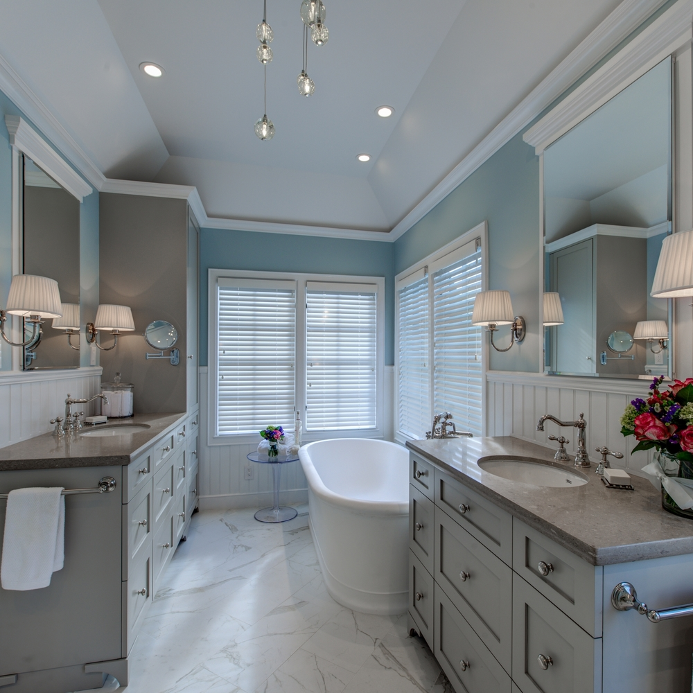 Piedmont Traditional Master Bath