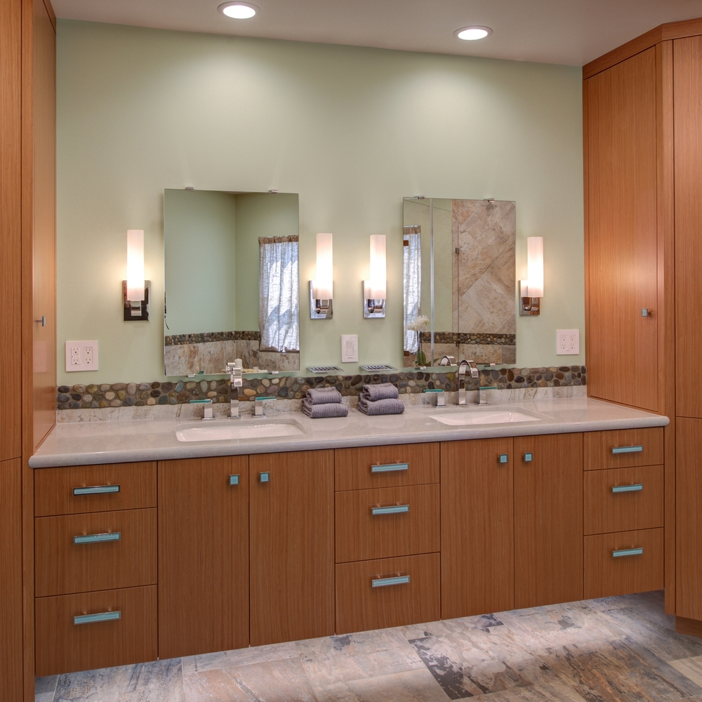 Montclair Contemporary Master Bath