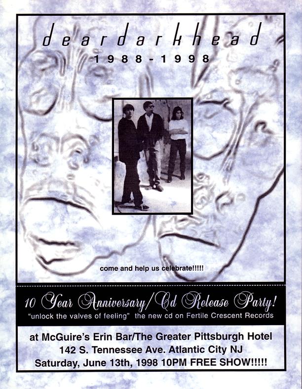 10 Year Anniversary Show, McGuire's, Atlantic City, NJ 06/13/98