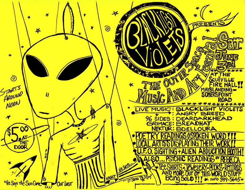 The Outer Space Music and Arts Festival, Scullville Fire Hall, NJ 06/03/95
