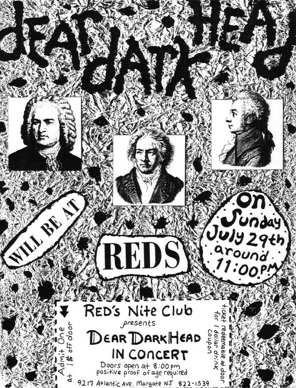 Reds, Margate, NJ 07/29/90