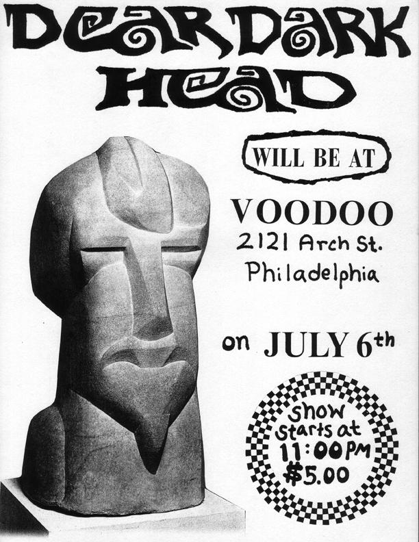 Voodoo, Philadelphia, PA 07/06/90