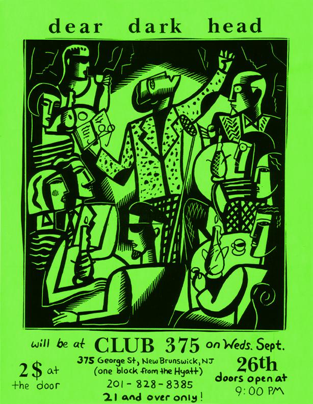 Club 375, New Brunswick, NJ 09/26/90