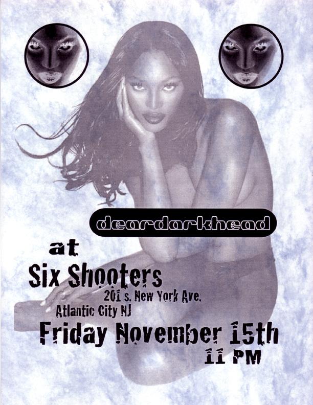 Six Shooters, Atlantic City, NJ 11/15/96