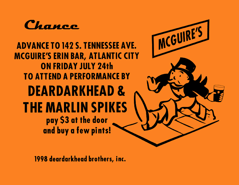 McGuire's, Atlantic City, NJ 07/24/98
