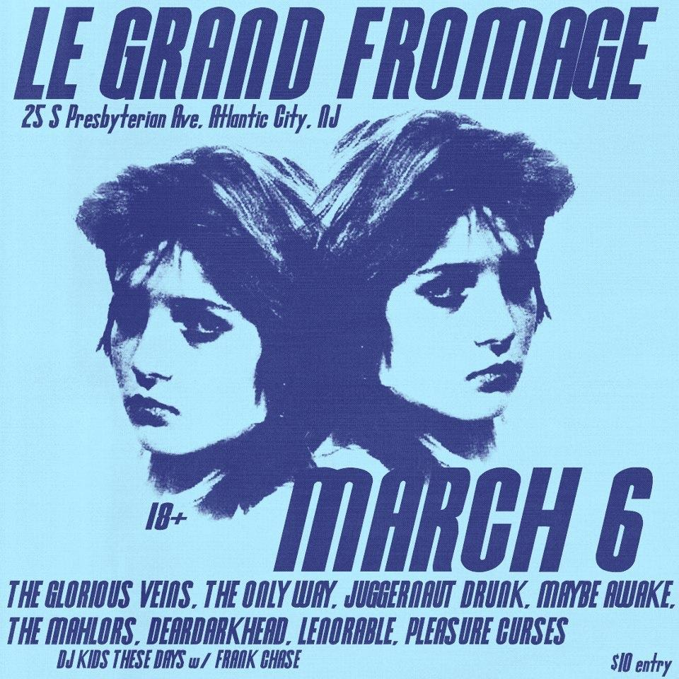 Le Grand Fromage Atlantic City, NJ 03/06/13