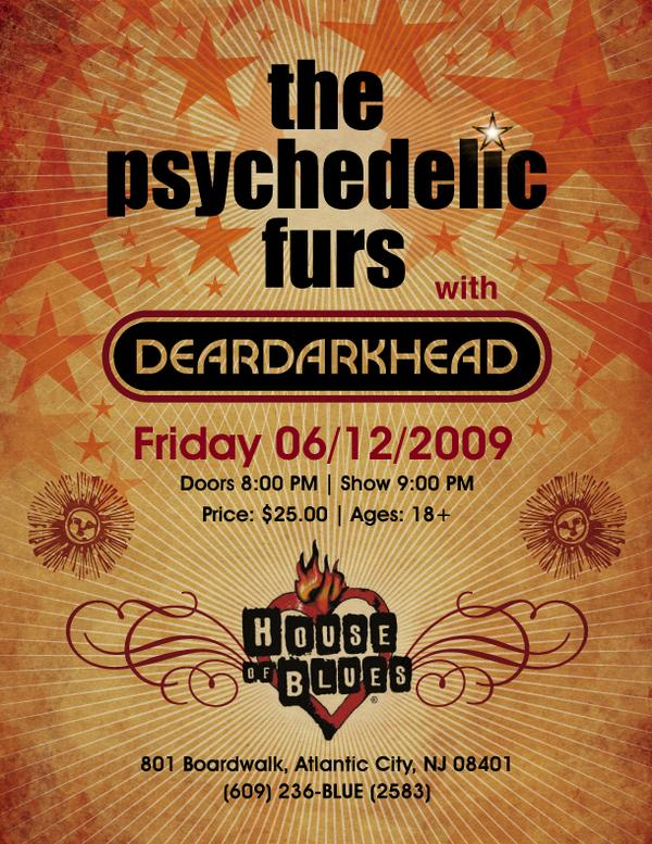 House of Blues, Atlantic City, NJ 06/12/2009