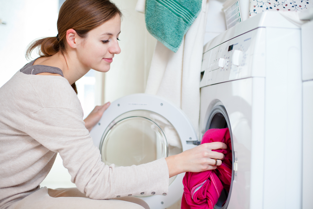 Wash and dry clothes