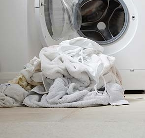Whites - Wash Warm Or HotNormal/Cottons Wash CycleLaundry Detergent, Bleach, Fabric Softener