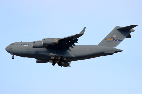 C-17 from McGuire