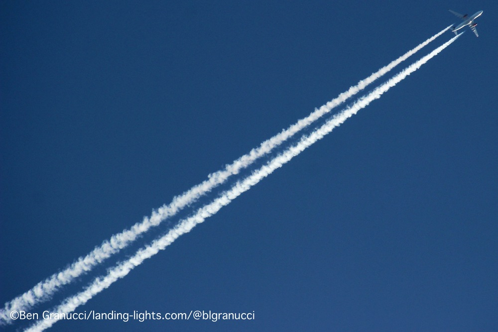 Laying a Contrail