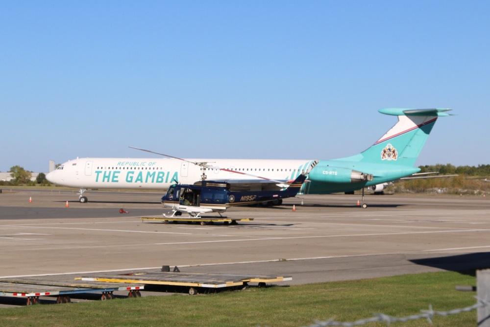 The Gambia's IL-62M