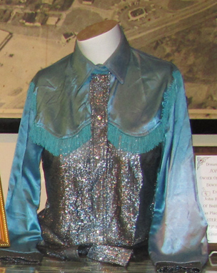 One of Geri's performance blouses.