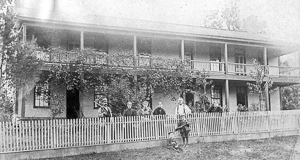 The Hamer house in Avoca is said to have been a stagecoach waystation. This image is from1896. In the 1920s, it became part of the Avoca Fish Hatchery. The Hatchery was decommissioned in 2016. Perhaps it's future will be as part of a county park.
