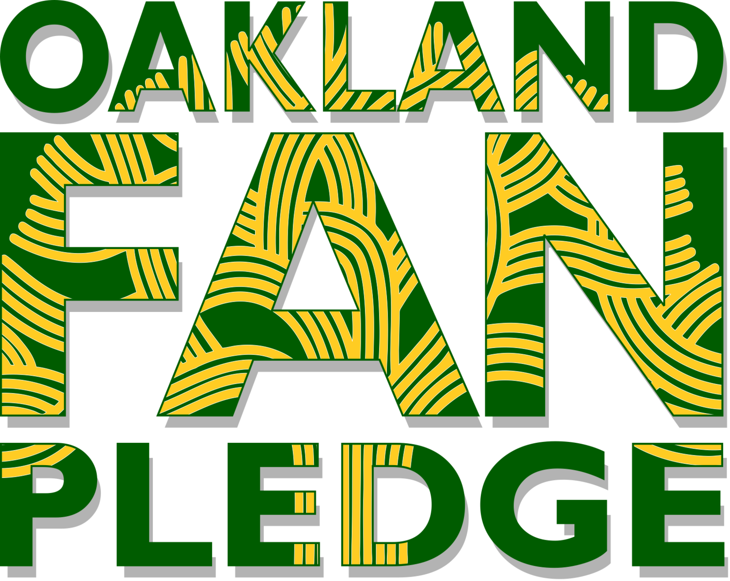 Oakland Fan Pledge