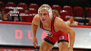 Hayden Hidlay, Camp Counselor - NCAA Finalist , ACC Wrestler of the Week, a league-best three times. U.S. Open Finalist, named to 2018 All-ACC Academic Team and NWCA's All-Academic Team.
