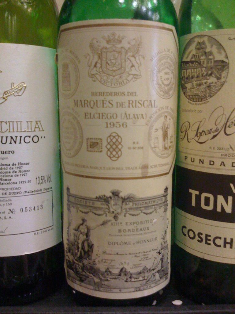 Marques de Riscal Gran Reserva Rioja 1956