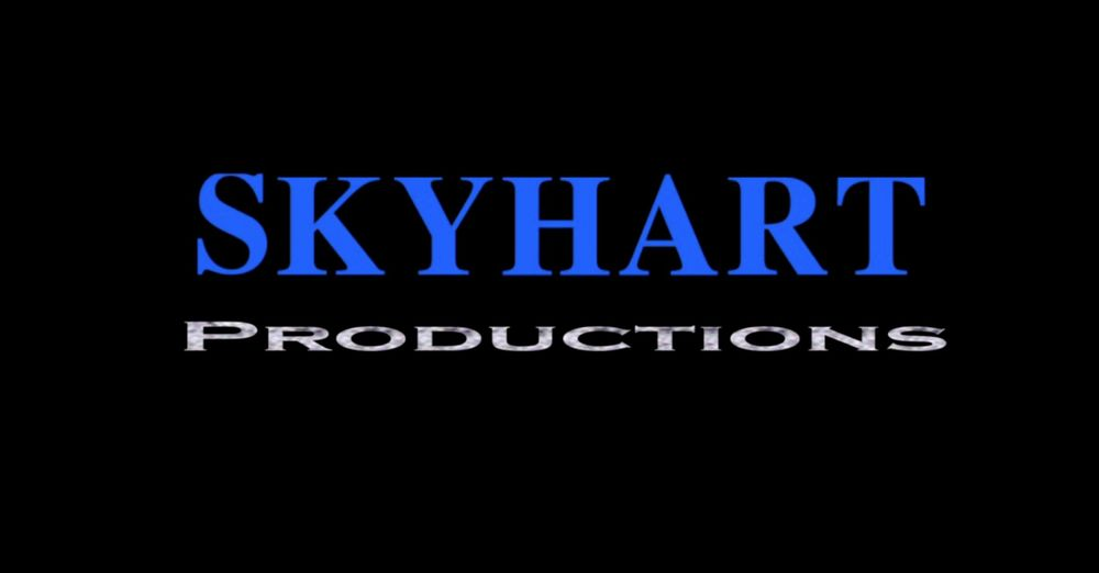 """This is the current logo of my independent production company """"Skyhart Productions."""""""