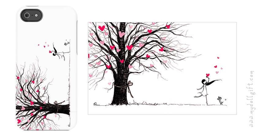 love tree-iphone casing