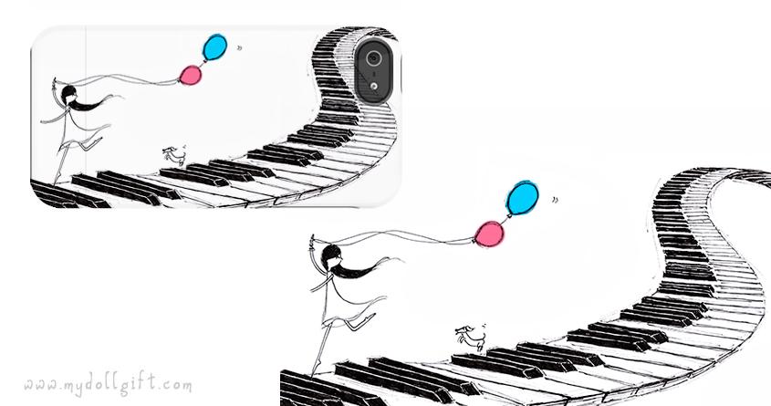 music delight-iphone casing